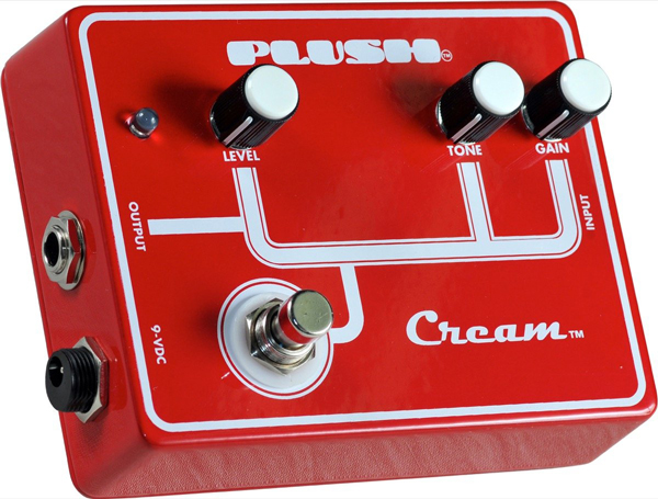 Plush Cream overdrive pedal