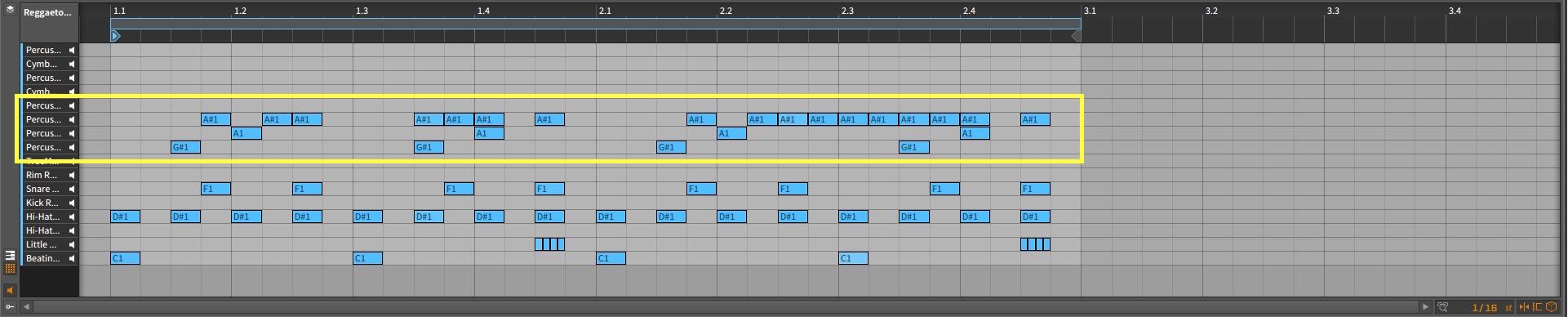 Bitwig Studio – Percussive Elements Arrangement [Percussion Chirk A, Percussion Chirk A]