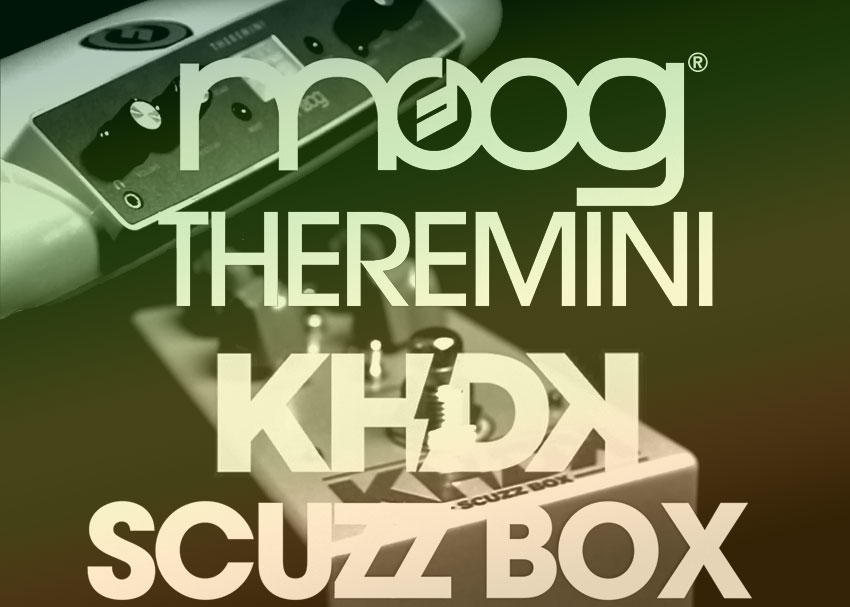 Perfect Pairings: Moog Theremini and KHDK Scuzz Box