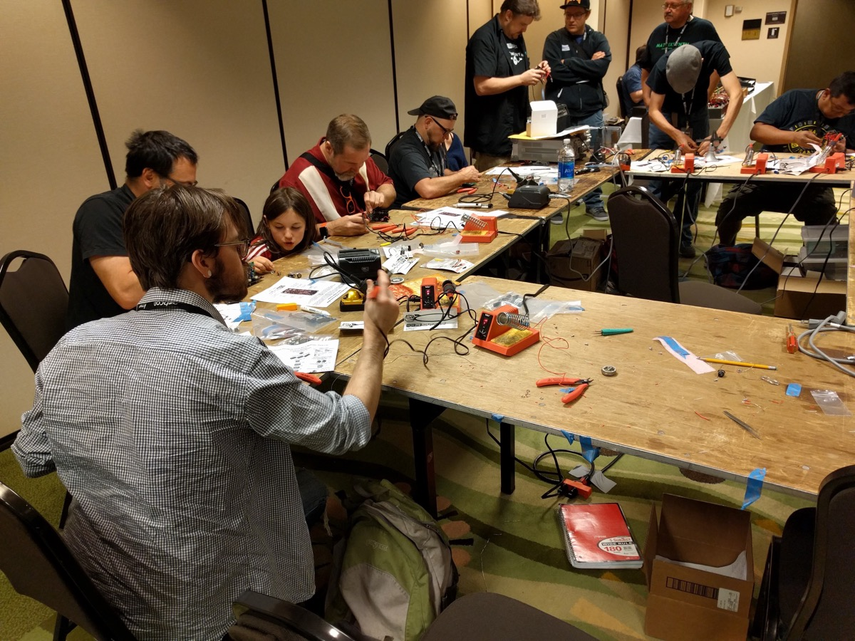 Synth Building Workshop at Knobcon 2016