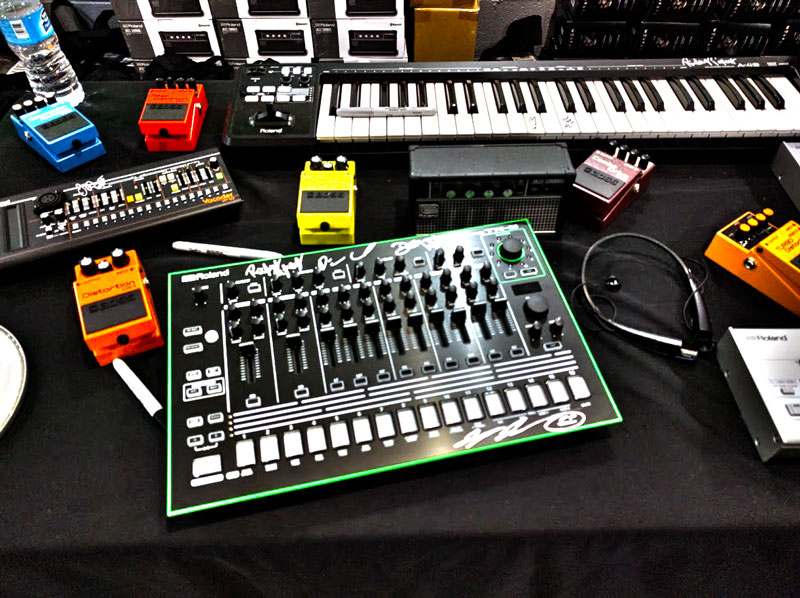 Signed Roland gear