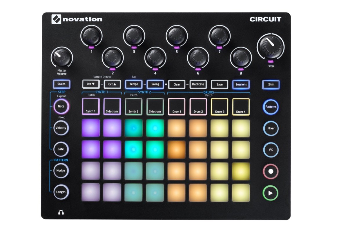 Novation Circuit Groove Box with Sample Import