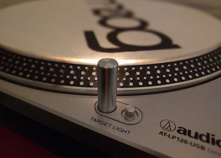 Audio-Technica LP-120 turntable