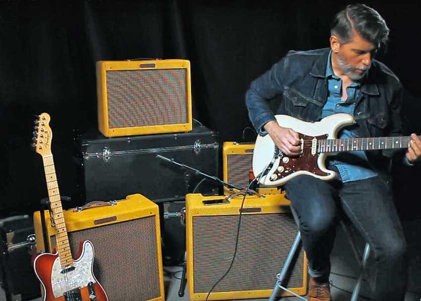 Fender '57 Custom Amp Series Video Demo