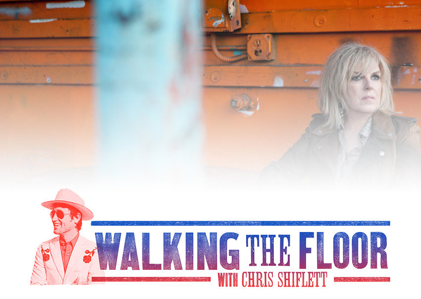 Walking the Floor Episode 73 - Lucinda Williams