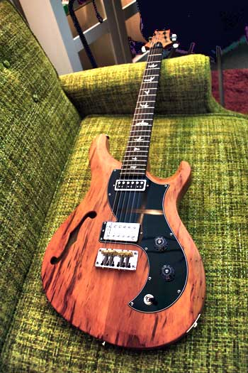 "PRS Vela Semi-Hollow ""Reclaimed Limited"""