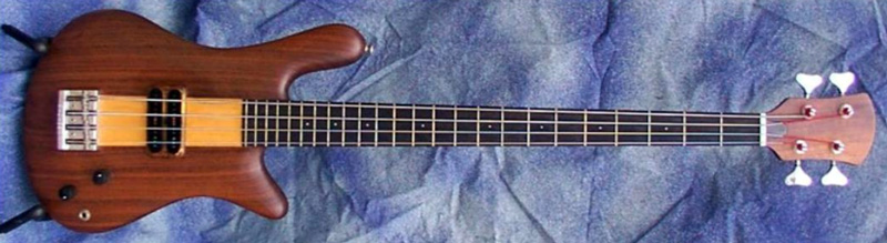 The first Spector NS-1, made in March 1977