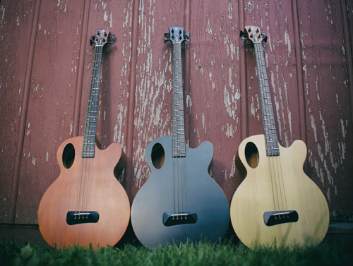 Spector's Timbre line of acoustic bass guitars