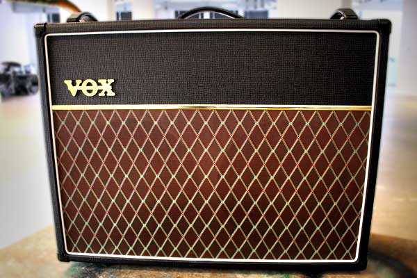 Our modern Vox AC30C2 amplifier