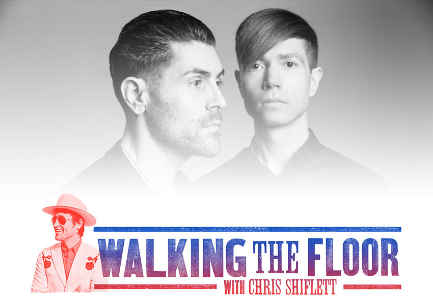 Walking The Floor Episode 75 Davey Havok, Jade Pudget