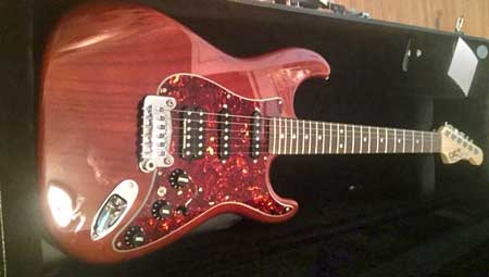 G&L Legacy with Ernie Ball Paradigm Strings