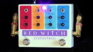 Red With Synthotron - Guitar Synthesis