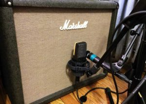 Recording electric guitar amps with more than one mic offers more options when creating a final mix.