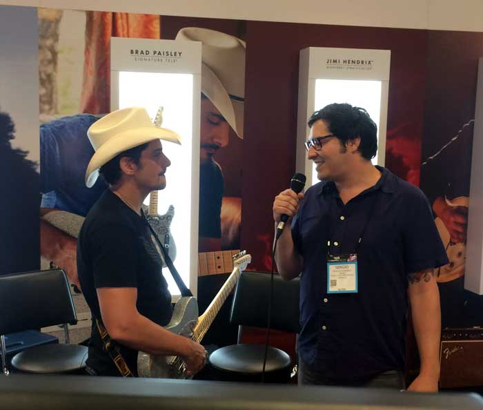 Brad Paisley Interview