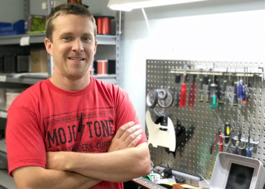 David Shepherd, Mojotone Pickup Designer