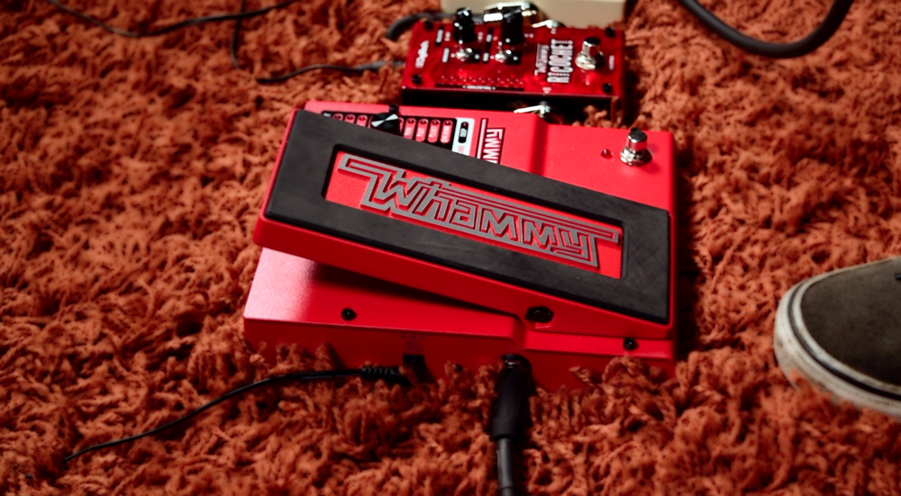 The Digitech Whammy is a big part of Jack White's tone