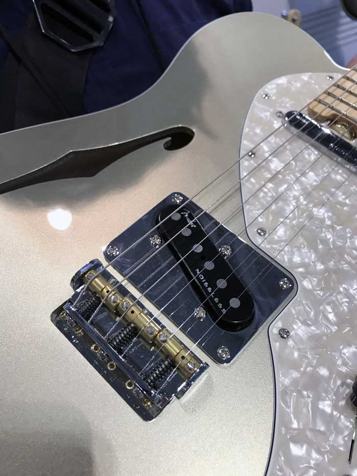 4th-Gen Noiseless Pickups