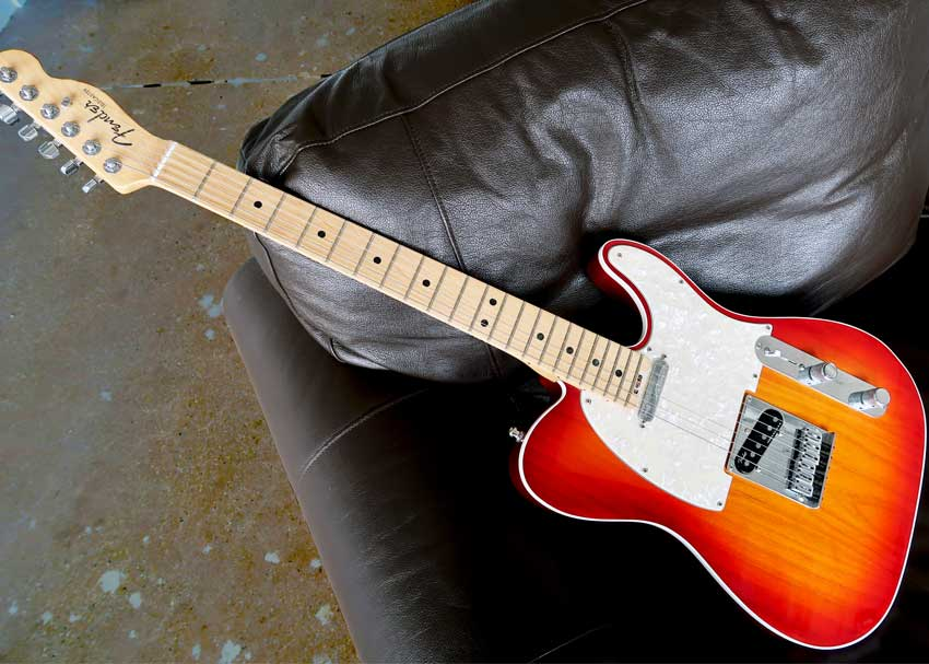Fender American Elite Telecaster zZounds Studio Take
