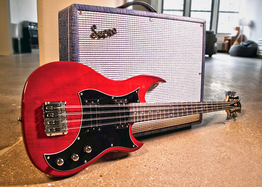 Hagstrom H8 Supro Thunderbolt Perfect Pairings