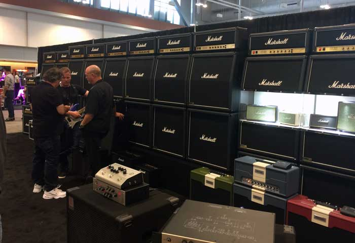 Marshall's Wall of Sound