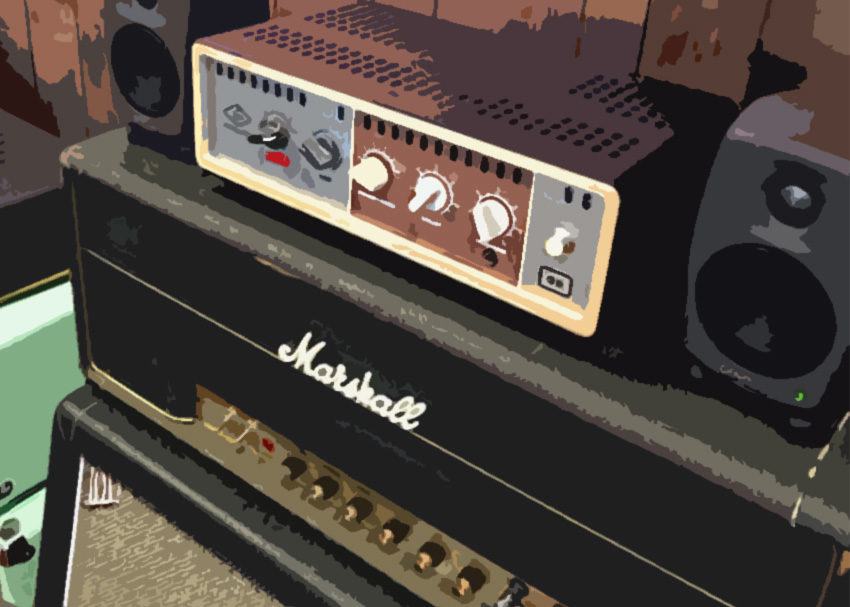 Reign in a Marshall head with the UA OX load box