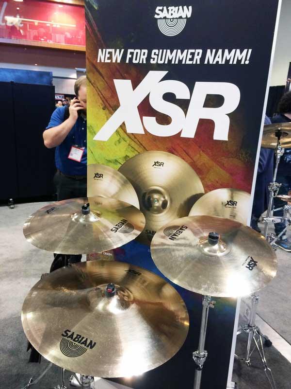 New Sabian XSR Cymbals