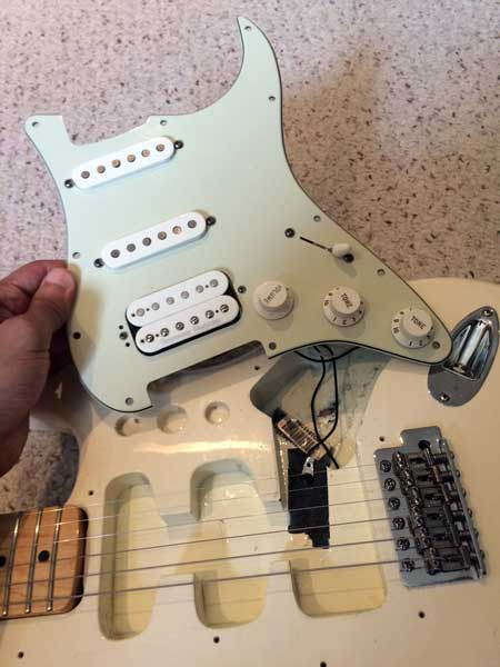 Excellent How To Install A Pre Wired Pickguard Zzounds Music Blog Wiring 101 Capemaxxcnl