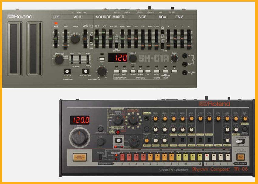 Roland 808 Day 2017: TR-08 and SH-01A