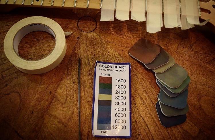 fret dressing tools