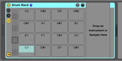 Ableton Drum Rack