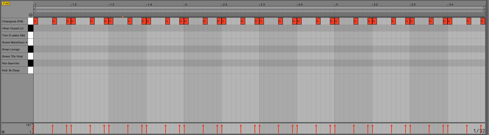 Ableton Drum Rack trigger