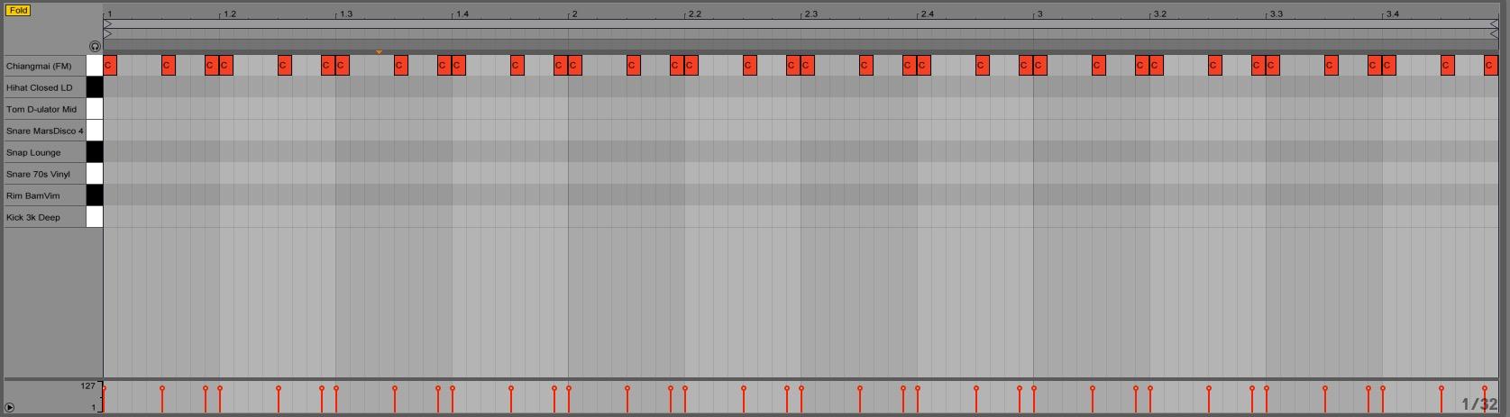 Ableton Drum Rack trigger