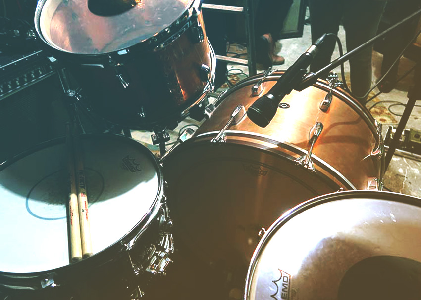 Wurst method for tracking drums