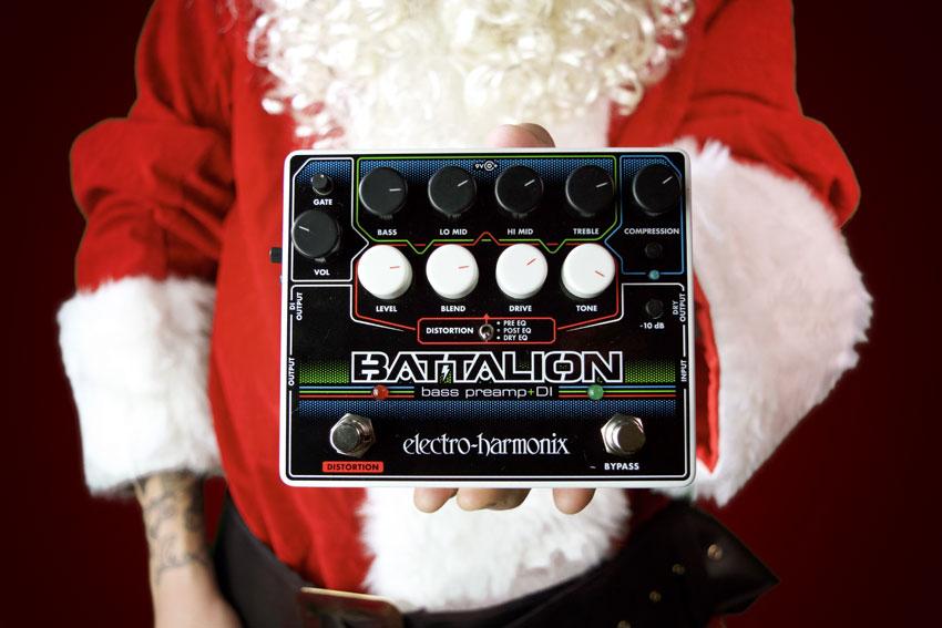 Electro-Harmonix Battalion Bass Preamp & DI Box