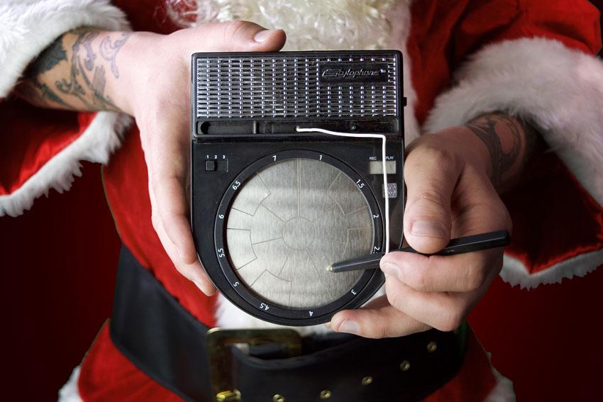 Dubreq Stylophone Beatbox Pocket Drum Machine