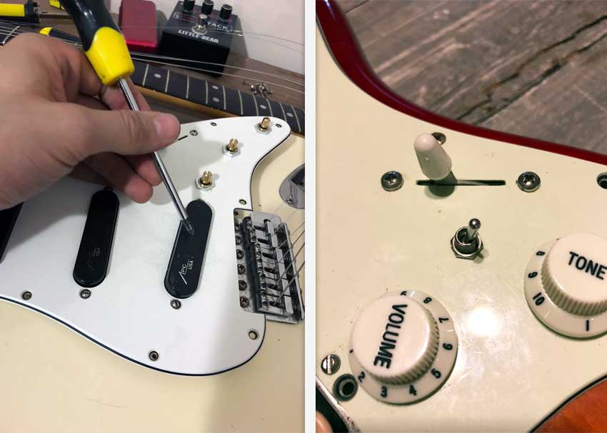 Modifying your Strat to sound like a Telecaster