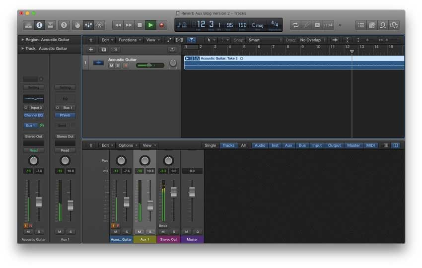 Creating a reverb auxiliary track opens up your creative freedom, adds cohesiveness to your mix, and frees up CPU usage.
