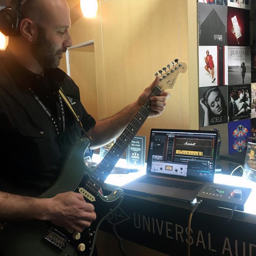 Joe from Universal Audio demos the Arrow
