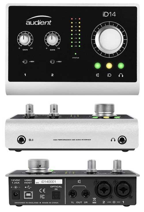 Audient iD14 USB audio interface