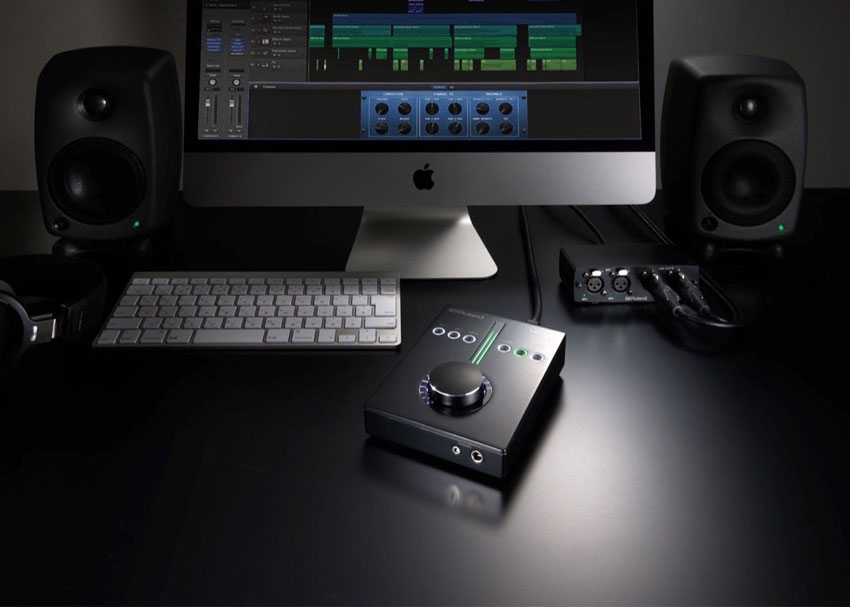 Roland Super UA audio interface with breakout box