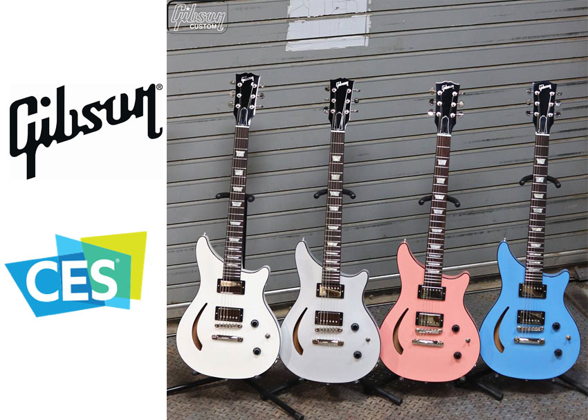 Gibson announces semi-hollow Modern Double Cut at CES