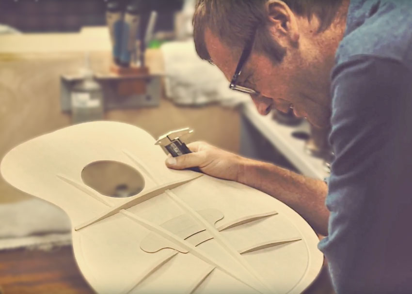 Taylor Guitars Master Designer Andy Powers on V-Class Bracing