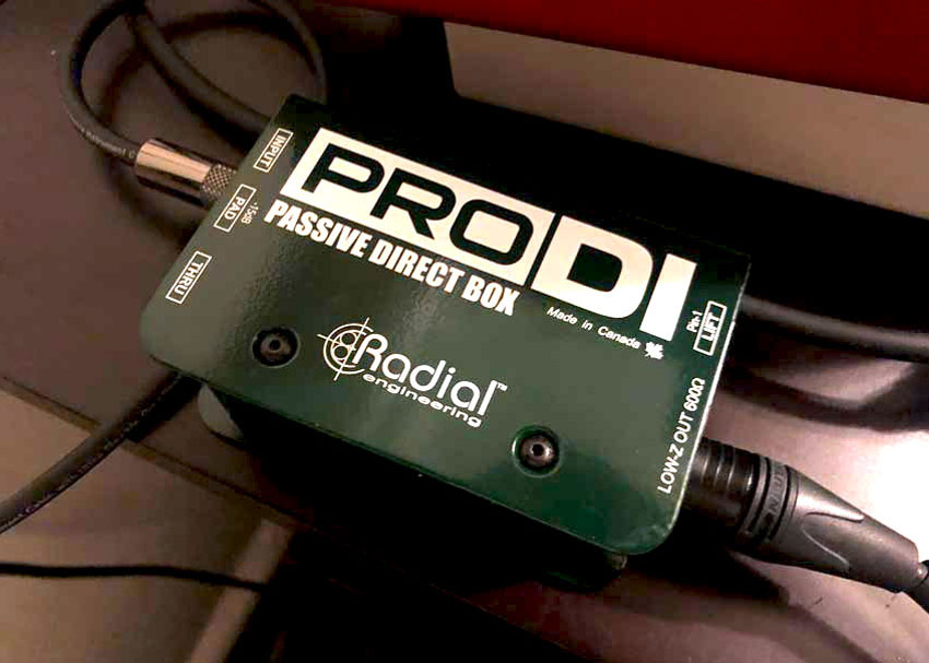 The Radial ProDI gets the job done.