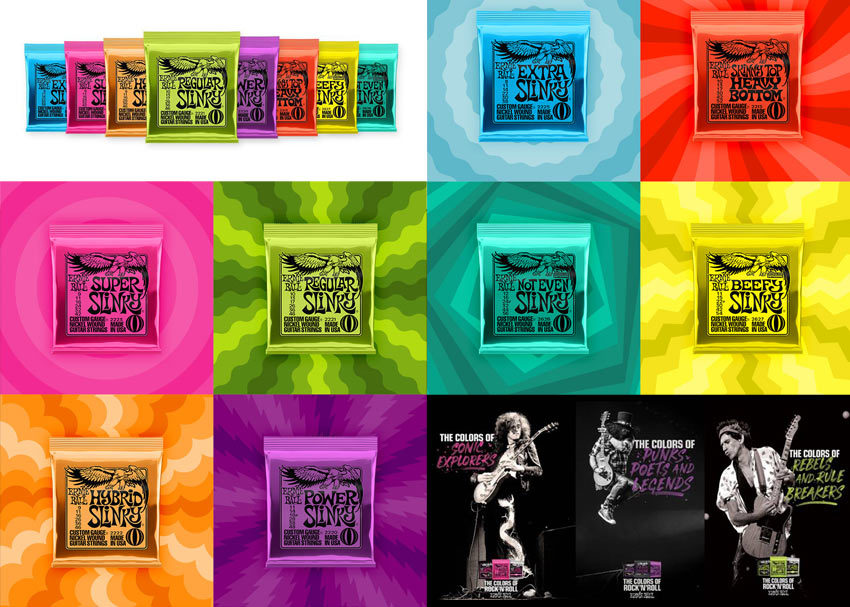 Ernie Ball - The Colors of Rock 'N' Roll
