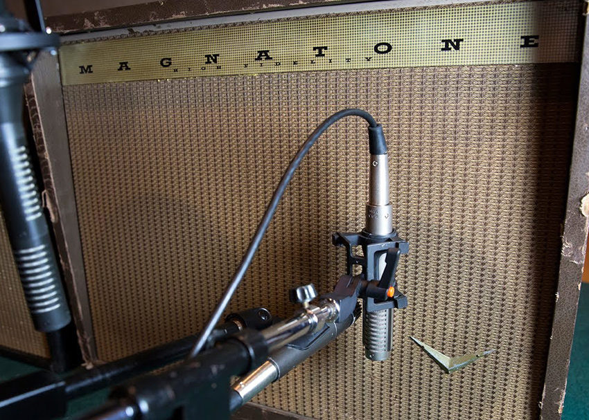Guitar Amp Microphone Placement