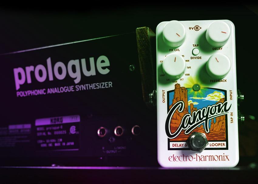 Perfect Pairings Korg Prologue and Electro-Harmonix Canyon