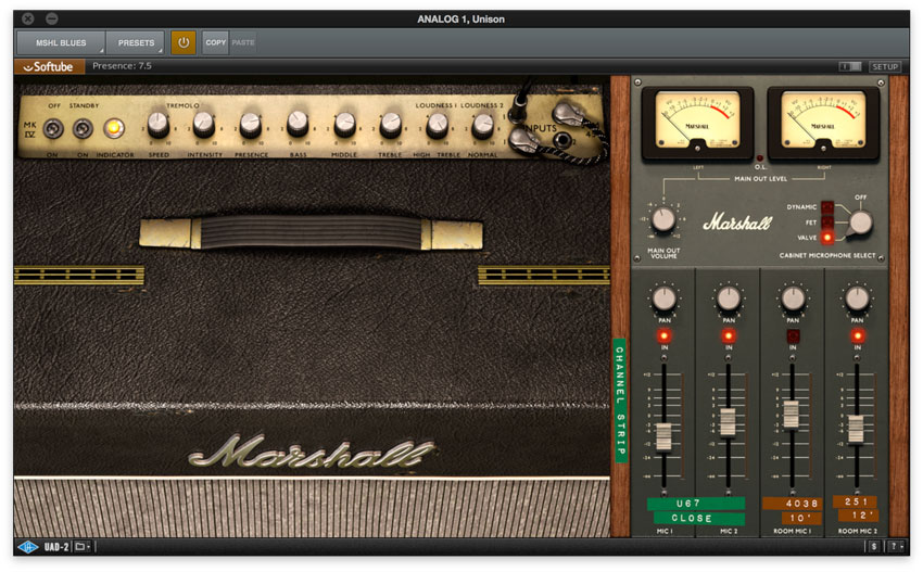 Marshall Bluesbreaker UAD2 Amp Model