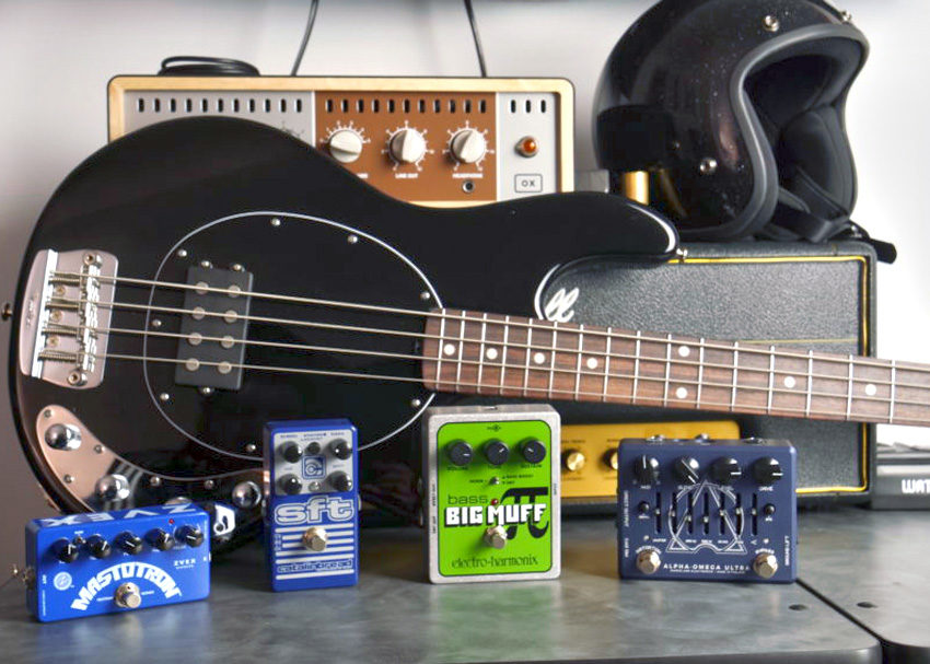 How to get distorted bass tones