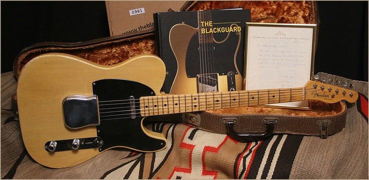 1952 Fender Broadcaster (source: chasingguitars.com)