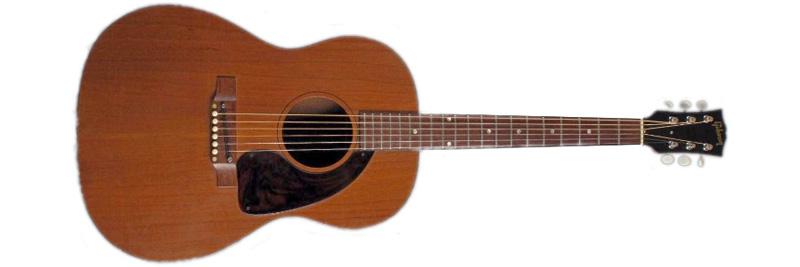 Gibson LG-0 with original bridge